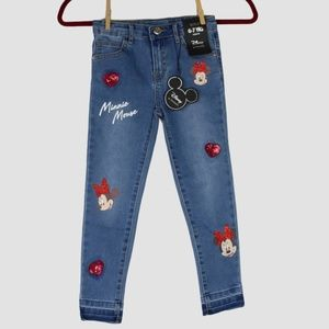 Sparkly Minnie Mouse Jeans